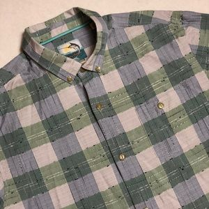Tommy Bahama Island Modern Fit Button Down Plaid